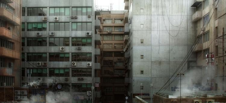 illustration, 3d, city, design - danpavel | ello