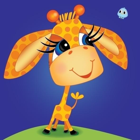 giraffe,  - kvoerg | ello