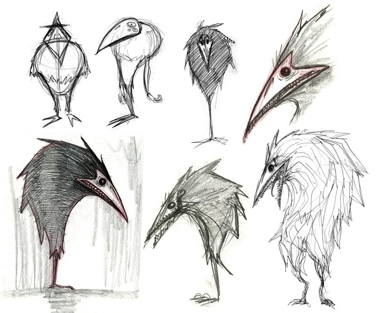 Noche - Character Development - characterdesign - yoonjeong_jo | ello