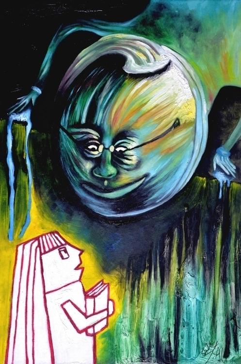 Goosebumps 3 30x45 oil canvas b - fagfedericaaglietti | ello