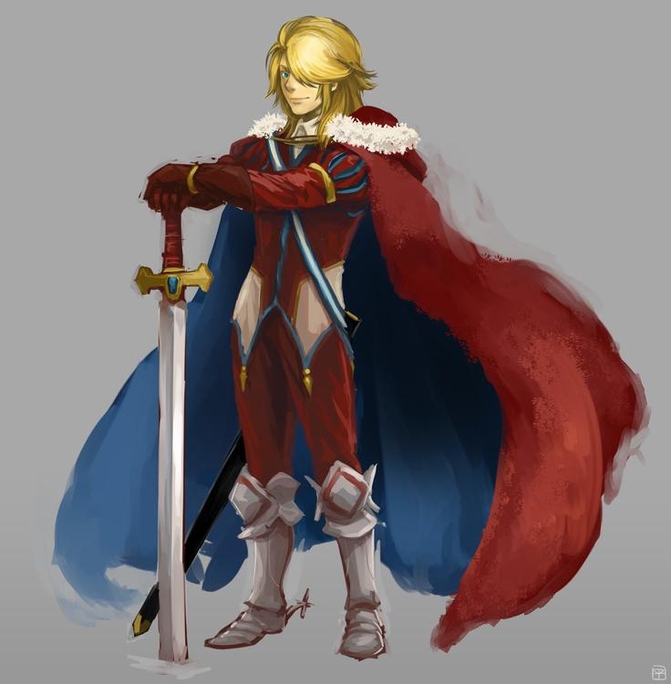 young king - illustration, fantasyart - mizuno-3224 | ello