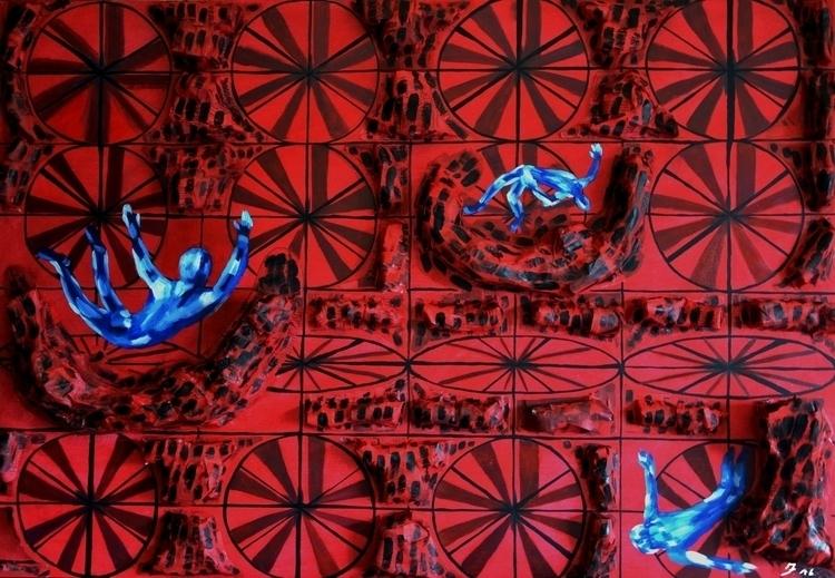 Title: Infinity 100x70 cm oil a - fagfedericaaglietti | ello