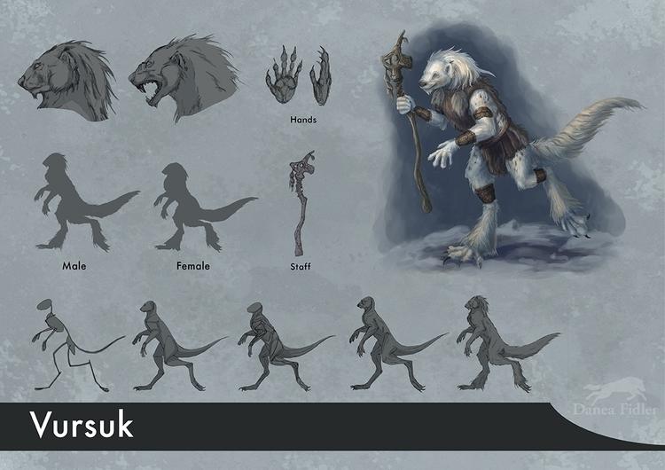 Vursuk creature design personal - daneafidler | ello