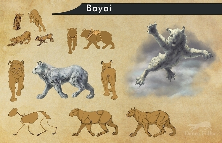 Bayai character/ creature desig - daneafidler | ello