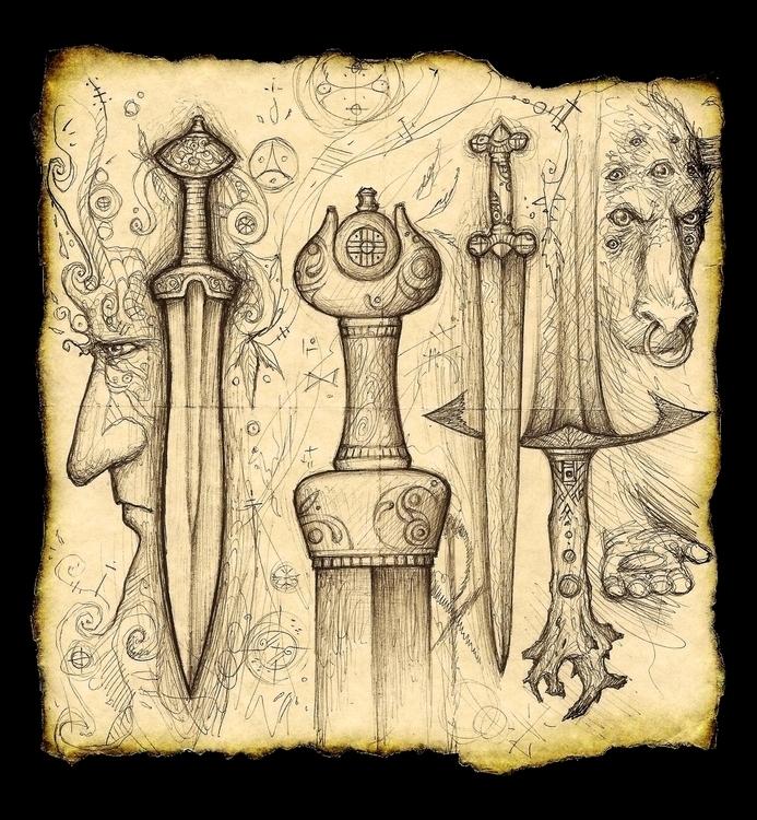 World Iron - sword, swords, ancient - cedarlore | ello