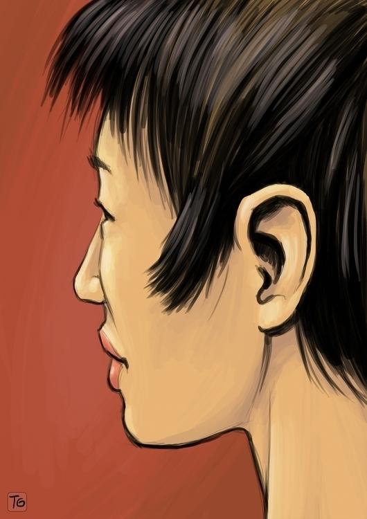 Chinese girl - china, portrait - gladtom | ello