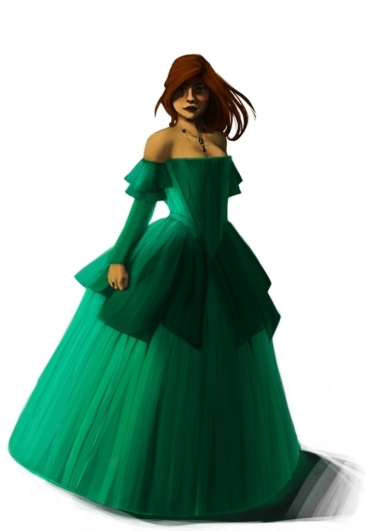 Character design - illustration - aurorenivet | ello