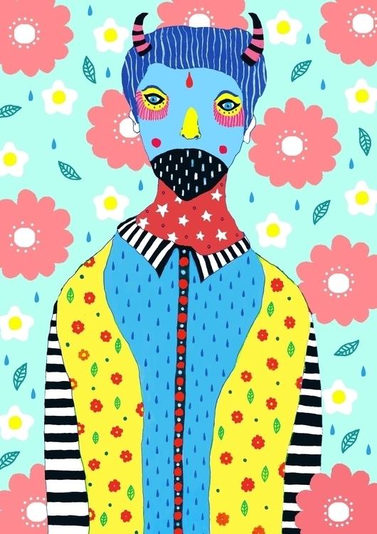 Fashionista - fashionillustration - saif-9654 | ello