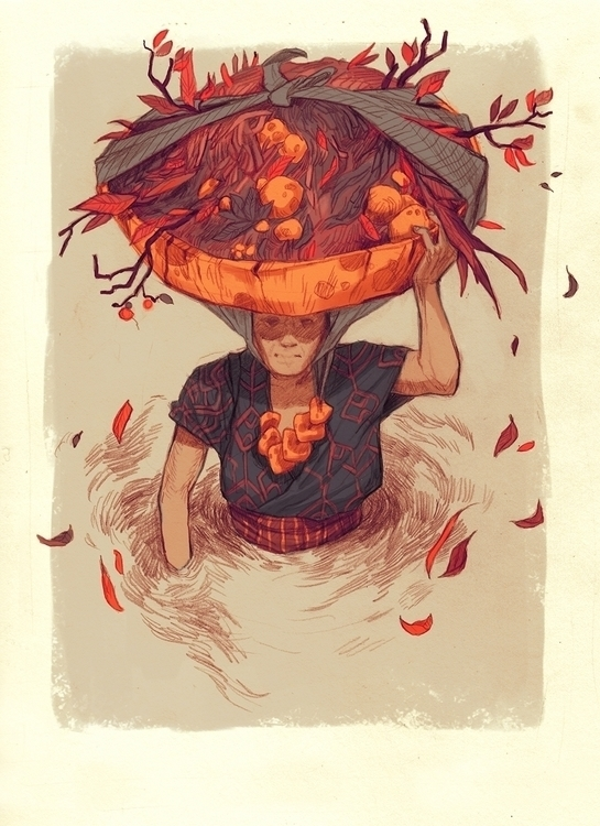 illustration, menplants, digitalart - thomke-9244 | ello