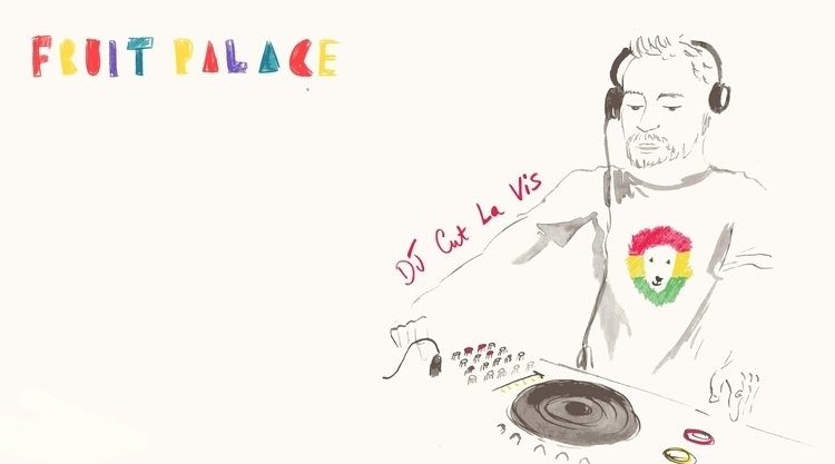 DJ Cut La Vis - music, gig, livedrawing - irclowes | ello