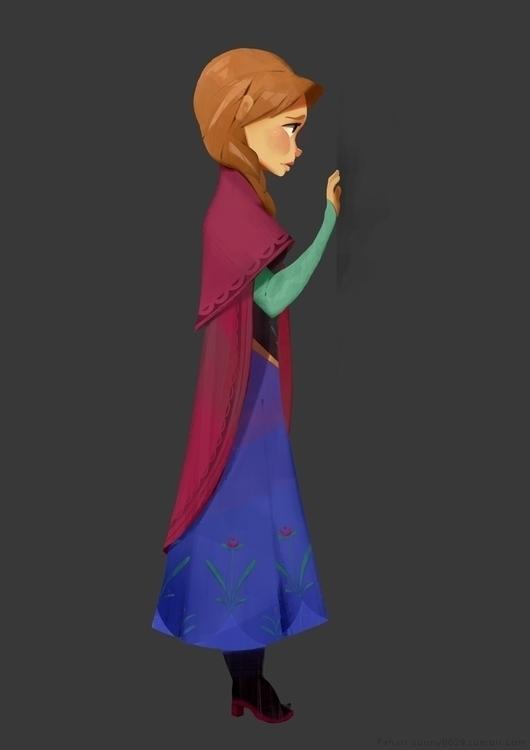 Anna - character, disney, frozen - sonny-2874 | ello