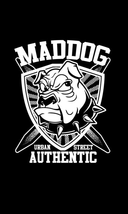 Maddog Streetart - 1, illustration - badsyxn | ello
