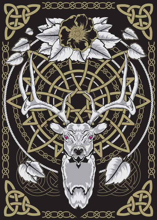 Poster series Nordic theme. Sta - deathisabadger | ello