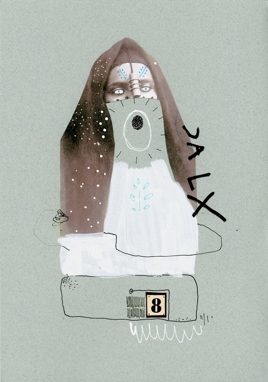 CALX 8 - collage, collageart, drawing - kimbogruff   ello