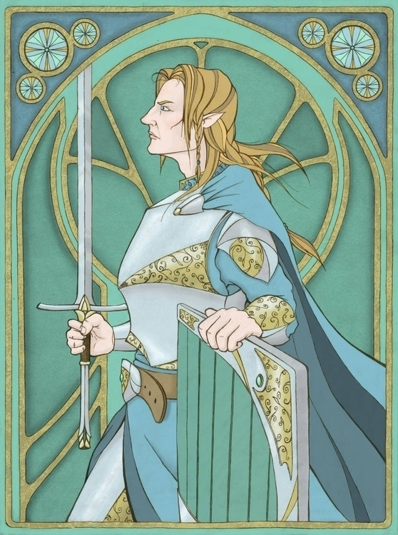 Fingolfin - dlindsey | ello
