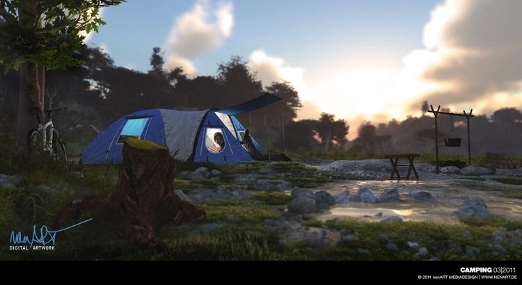 Camping Posed POSER 8, composed - nenart | ello