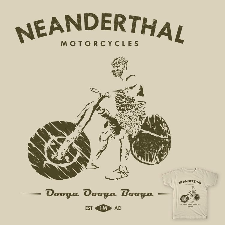 Caveman Motorcycle Dude - caveman - trybyk | ello