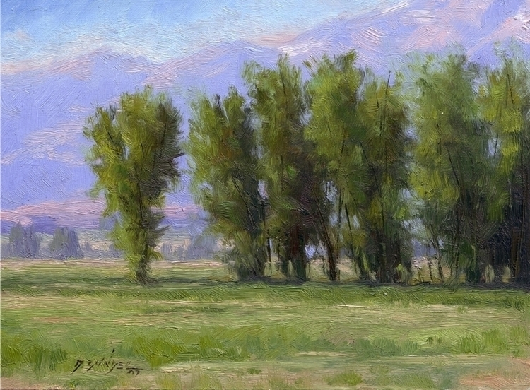 painting, pleinair, landscapes - dallynzundel | ello