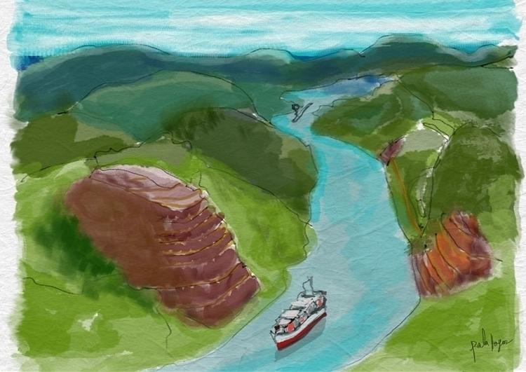 El Canal de panama - palahoyos   ello