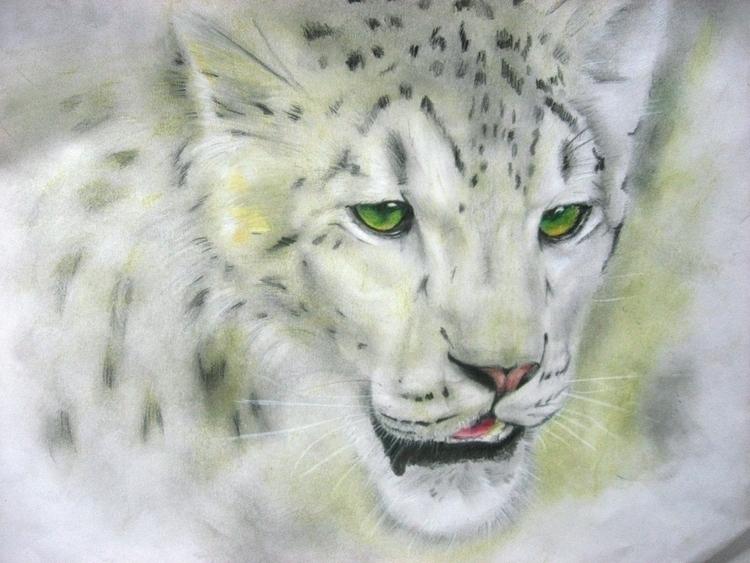 Danger Eyes - illustration, painting - eddyg-1360 | ello