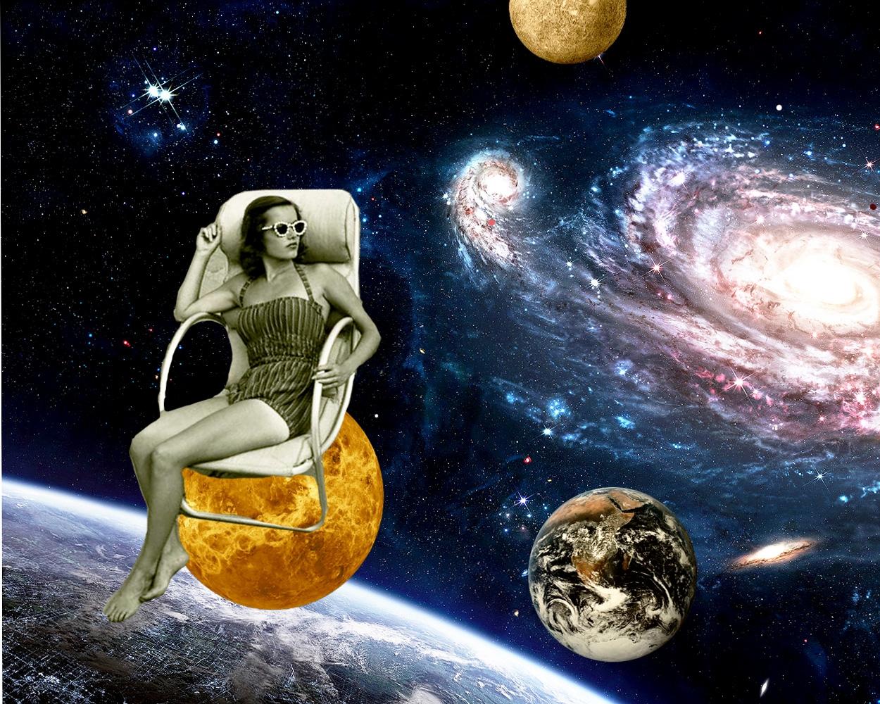 Universos. 2015 - collage, illustration - vivianpantoja   ello