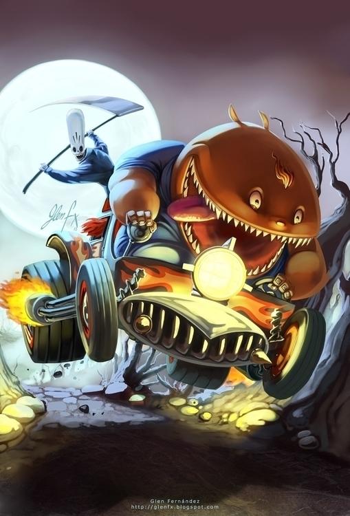 Grim Fandango Tribute - tribute - glenfx | ello