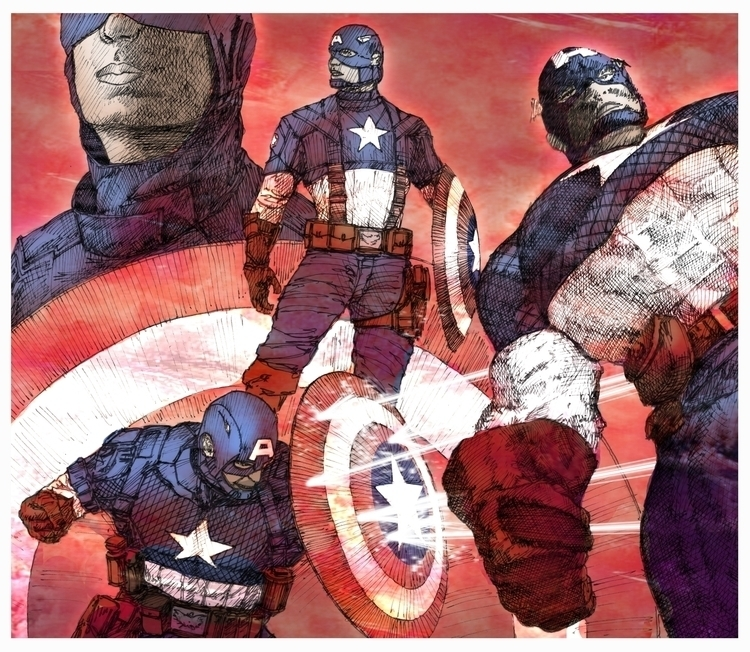 Captain - comics, captainamerica - rpoling   ello
