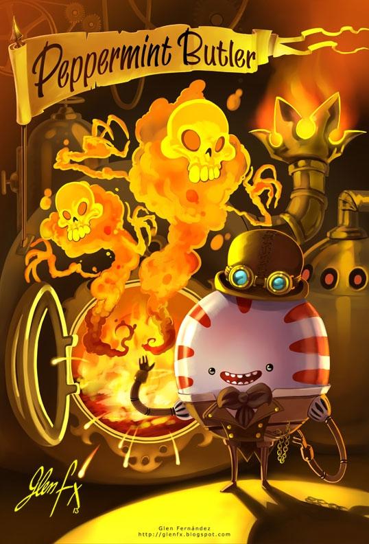 Steampunk Peppermint Buttler, c - glenfx | ello