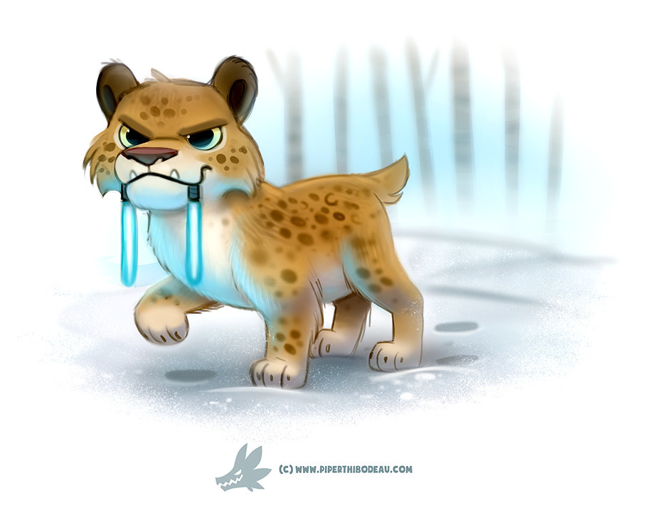 Daily Paint Light Sabre-Tooth T - piperthibodeau | ello