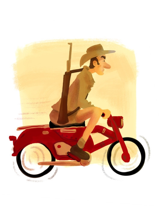 zoomy - hunter, safari, motorbike - cjwords | ello
