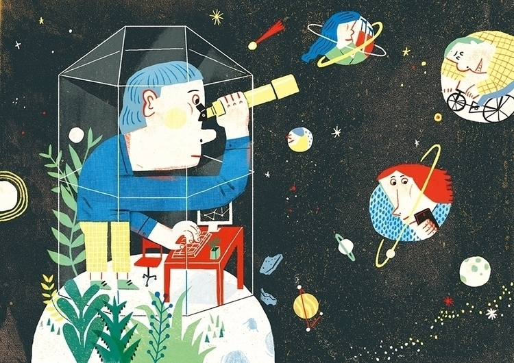 Observing stars - danmian | ello