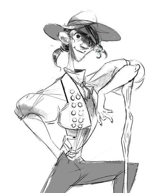 characterdesign, sketch - kinopia | ello