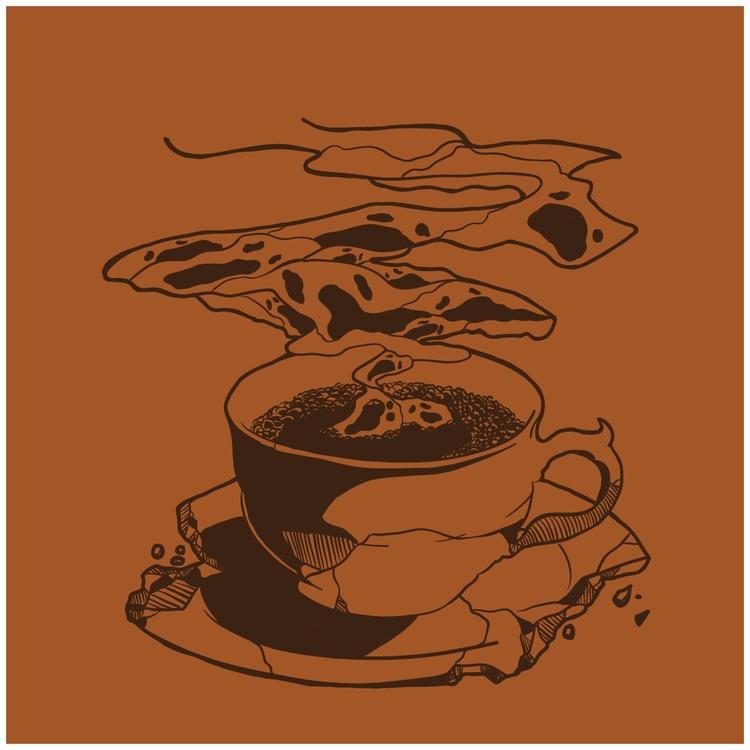 01 - ghosts, coffee, inktober2015 - nickvcarro | ello