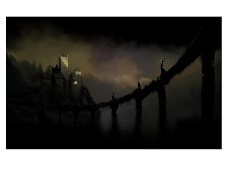 Dracula movie concept Art - conceptart - psyloblack | ello