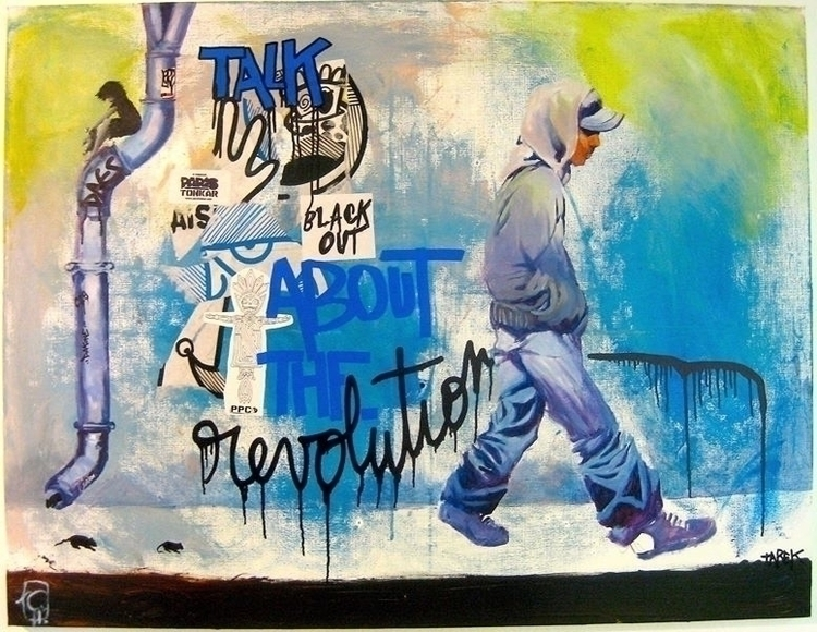 news pictures - painting, revolution - tarek-8894 | ello