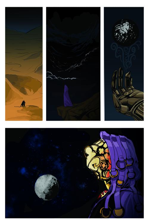Comic Page - illustration, comics - erroseart | ello