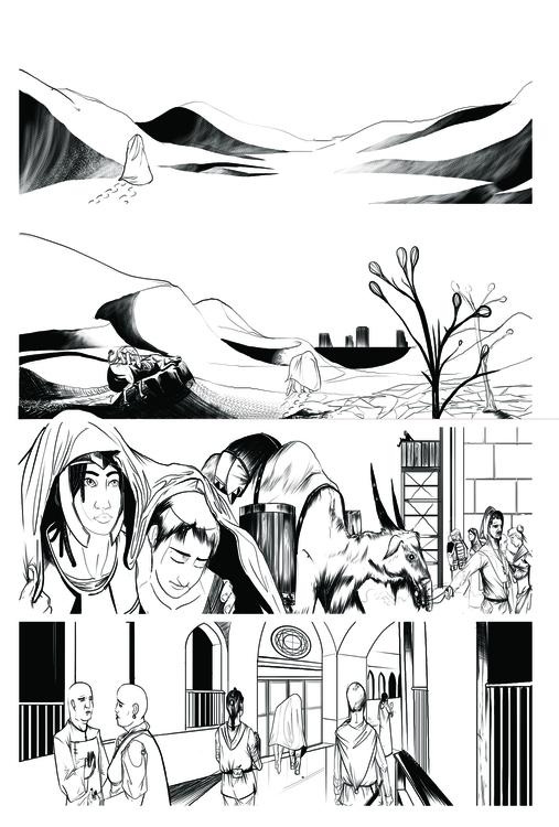 Comic Page - illustration, comics - erroseart | ello