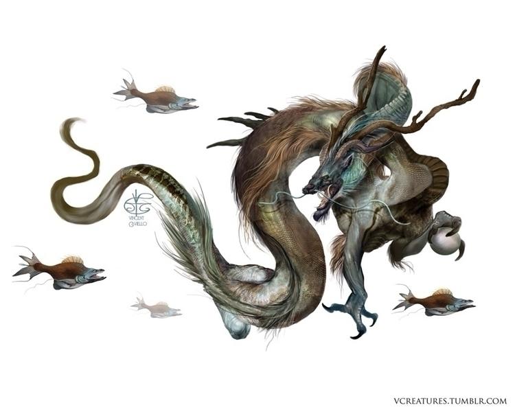 lung favorite dragon. elegance  - vcreatures | ello