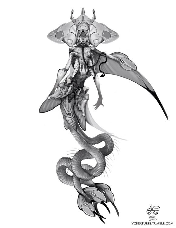 Space mermaids dangerous bunch - vcreatures | ello