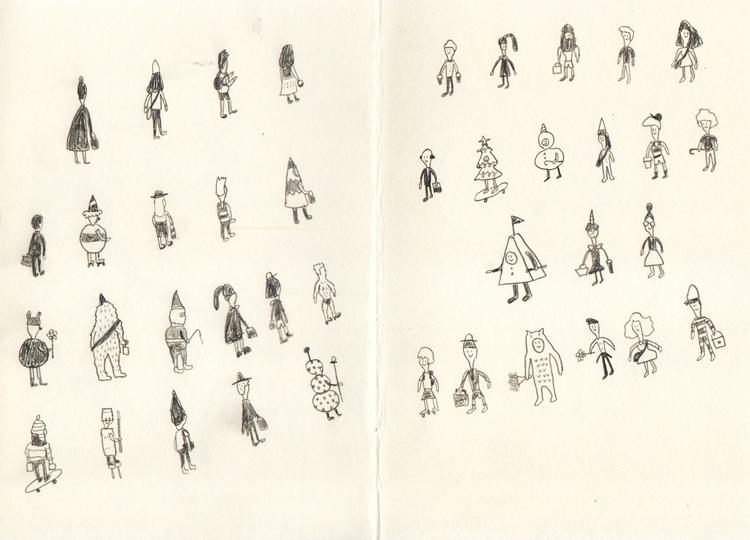 pencil, drawing, illustration - johnnydontcry   ello