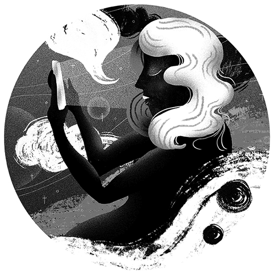 illustration, night, insomnia - stephaniekubo-8873 | ello