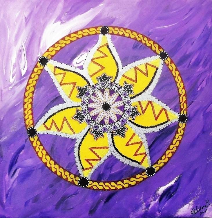 Arabic Flower 2 - mariposa101   ello