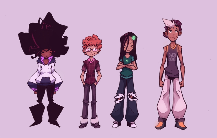 batch character designs Sweetie - grandpabats | ello