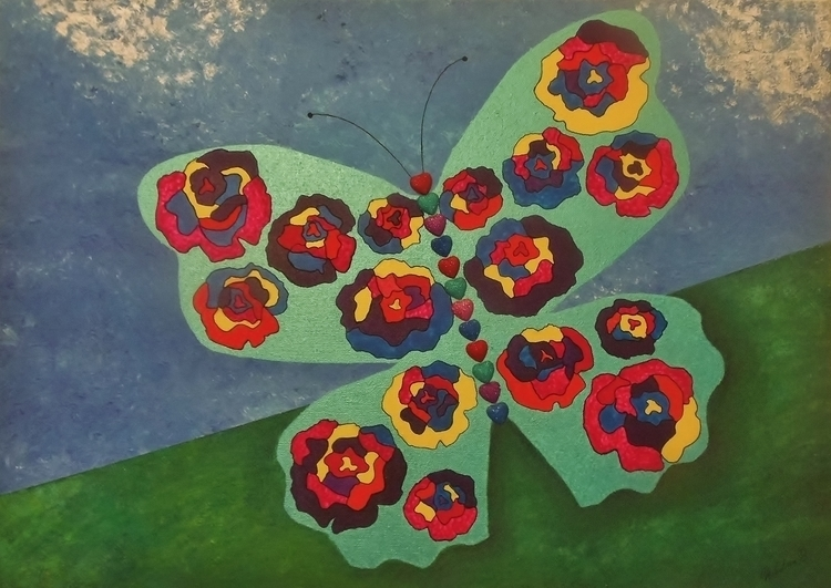 Butterfly Bloom - mariposa101 | ello