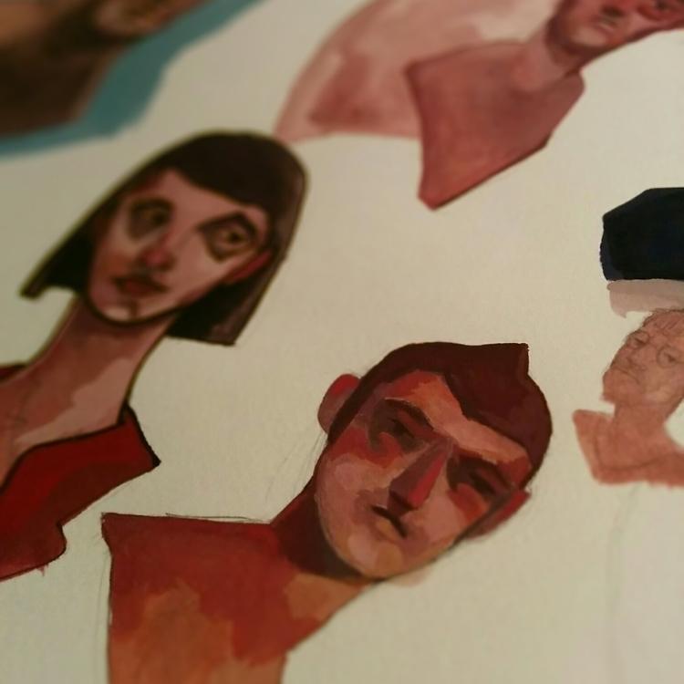 Gouache - 01, gouache, painting - jordan_buckner   ello