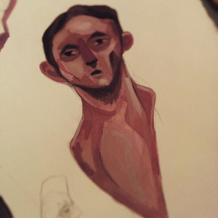 Gouache - 02, painting, gouache - jordan_buckner | ello