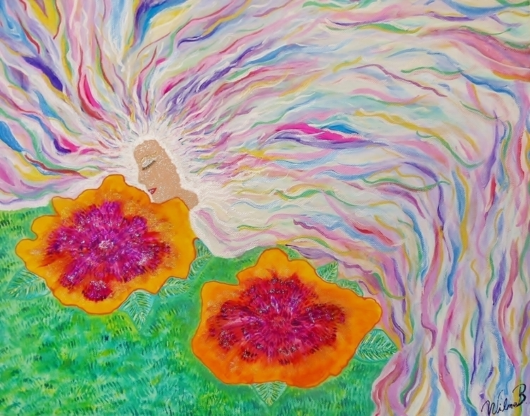 Flower Fairy - mariposa101 | ello