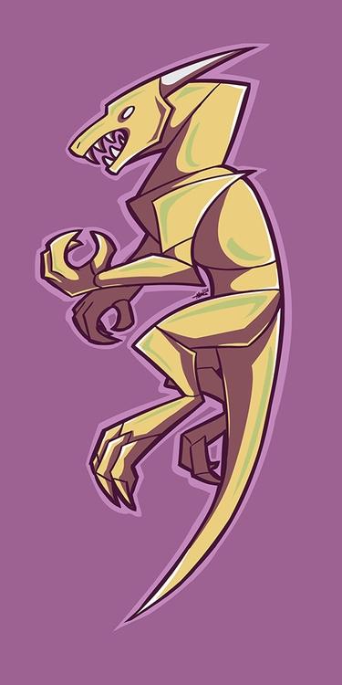 150108 Dragon - dragon, illustration - madmeeper | ello