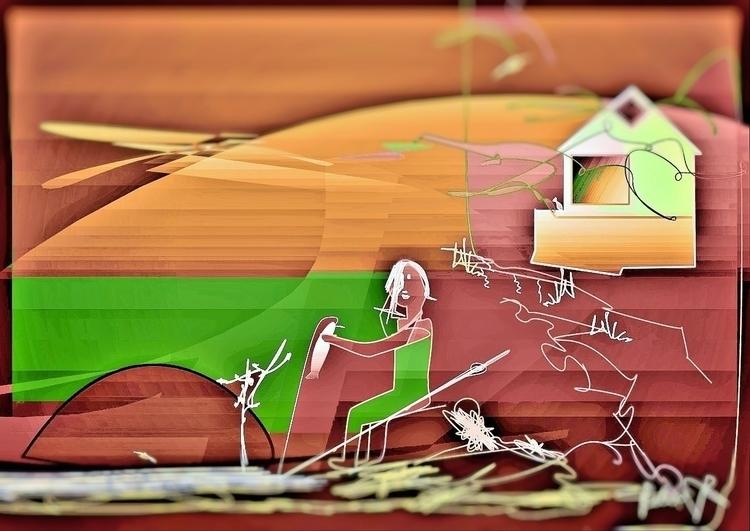 Dudley Yah! Friends - illustration - danielspeterv | ello