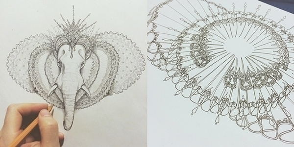 concept art - conceptart, elephant - murysina   ello
